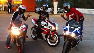 BIKERS Compilation - Superbikes & Accelerations, Motorcycle Wheelies, Speed, RACE  LOUD Exhausts!
