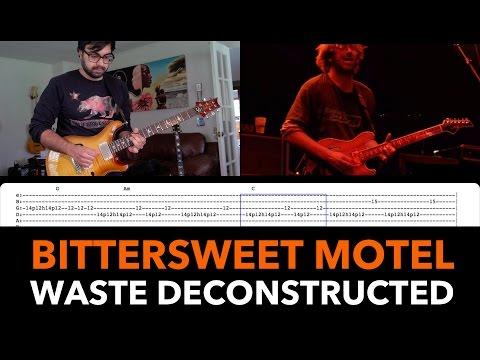 Phish Waste Guitar Lesson ► Bittersweet Motel Solo Tutorial (12/11/97)
