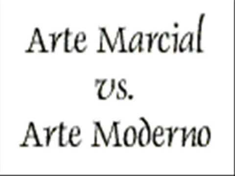 Arte marcial VS Arte moderno
