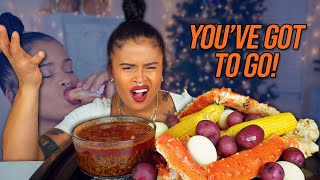 KING CRAB SEAFOOD BOIL + I'M TIGHT! GRINCH RANT!
