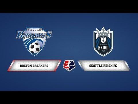 Boston Breakers vs. Seattle Reign FC - June 19, 2014