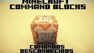 Minecraft - COMANDOS QUE VOCÊ NÃO SABE! - VACA DE TNT? - Ep 1