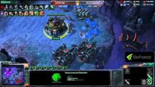GSPA Destiny vs Bomber ZvT Game 1 - Starcraft 2