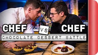 Chef Vs. Chef ULTIMATE Chocolate Dessert Battle!!