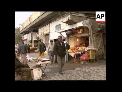 IRAQ: BAGHDAD: UN SANCTIONS MAY BE EASED
