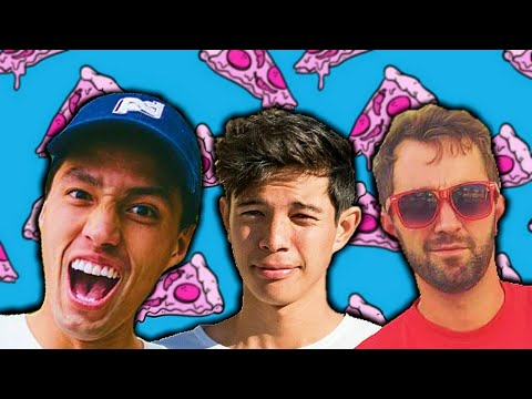 Famous Youtubers Argue About Pineapple On Pizza!?!?