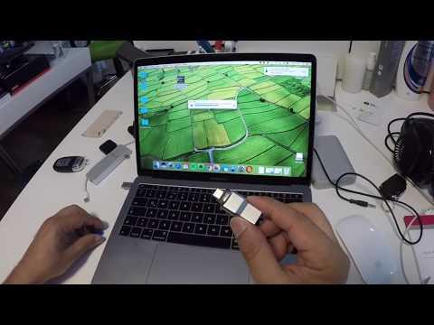 MacBook Pro'nun sadece Type-C giri�lerini fırsat bilen bazı firmalar, geli�tirdikleri aparatlar ile kullanıcıların talep etti�i eksikleri giderebiliyorlar. Bu videoda, Kingston ve markası...