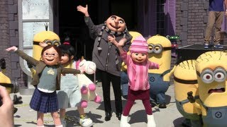 Grand opening of Despicable Me: Minion Mayhem at Universal Orlando