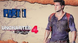 Uncharted 4: A Thief's End - Walkthrough No Commentary - Part 1: Prologue [All Collectibles]