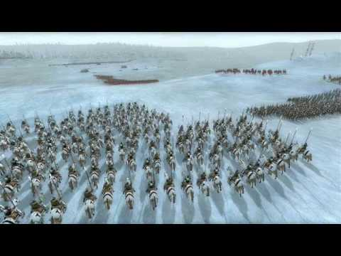 Alexander Nevsky - battle of the ice 3D ANIM battle maps for RUSICHI TOTAL WAR