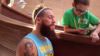 Enzo Amore, fan, WrestleMania tickets, Arnold Palmer Hospital for Children - WrestleMania Week 2017