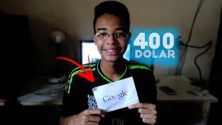 Como GANHAR Dinheiro NO YOUTUBE : GANHEI 400 DOLARES