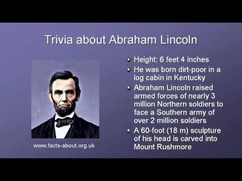 President Abraham Lincoln Biography