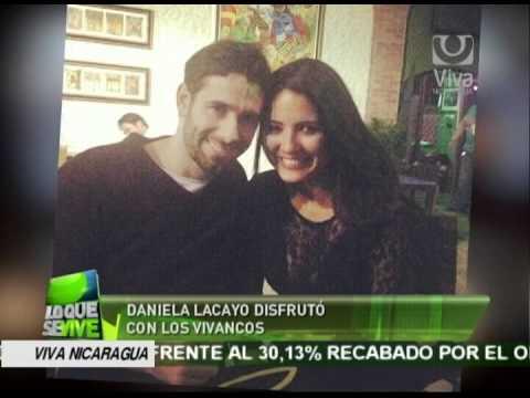Daniela Lacayo disfrutó con Los Vivancos