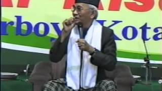 Pengajian lucu - KH  Musthofa Bisri Gus Mus di Lirboyo Kediri