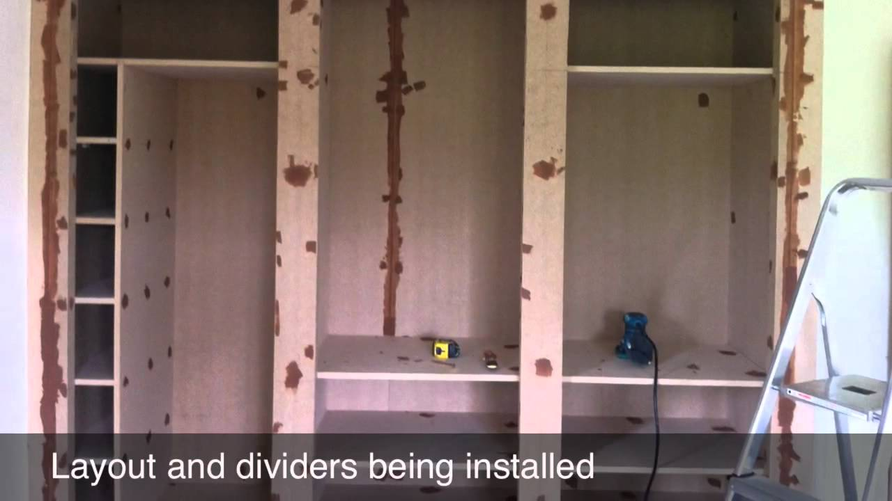 Custom Fitted Wardrobes Youtube