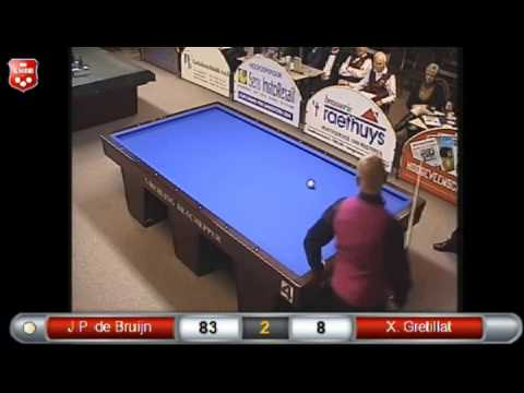 De Bruijn-Gretillat 1 Cushion Euro Grand Prix 2014.The final
