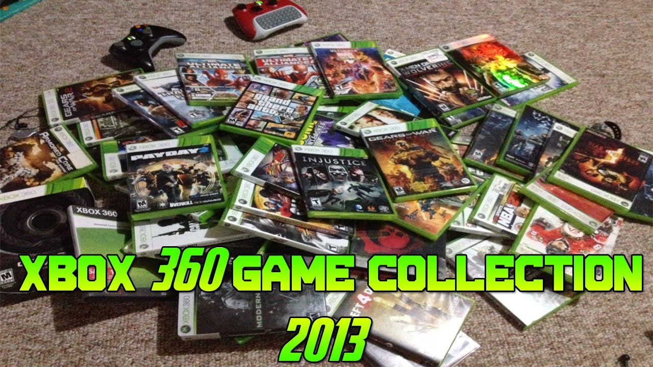 Only For Xbox 360 Games : Xbox game collection youtube