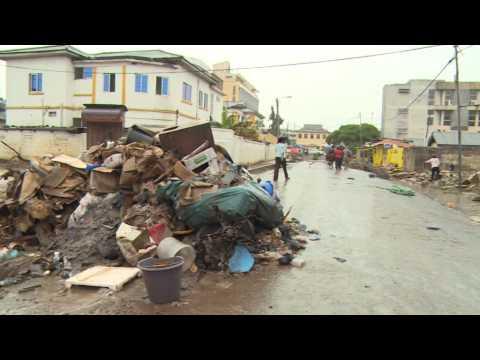 ACCRA'S FLOODING by Michael Oti