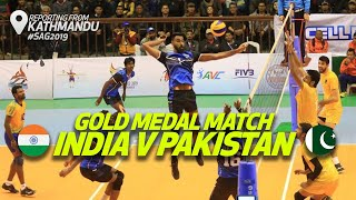 Highlights - India v Pakistan | Final | Men's Volleyball | 13th South Asian Games 2019