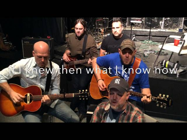 "MercyMe - ""Dear Younger Me"" Acoustic - Welcome To The New"