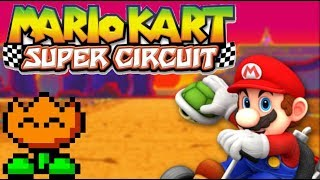 Mario Kart Super Circuit Part 7 - Extra Flower Cup - Shadow The Gamer