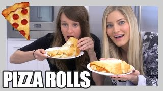 How to Make Pizza Rolls! | iJustine