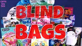 Blind Bags Opening Surprises Mario Cart 8 Paw Patrol Trolls Care Bears Hello Kitty Peanuts Toys Fun