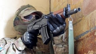 "Airsoft War CQB Action ""Fife War Games"" Scotland HD"