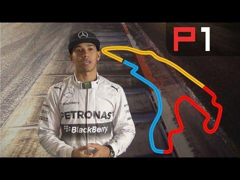 Belgian Grand Prix: Lewis Hamilton in the F1 Simulator - Spa