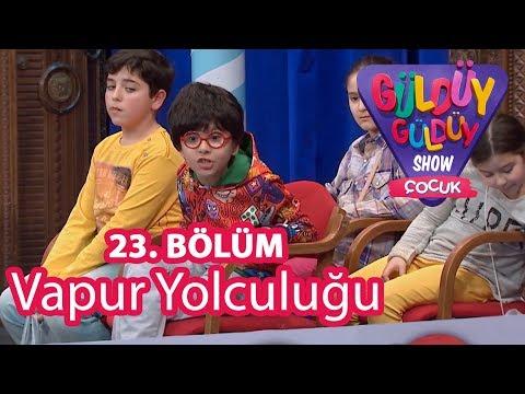 Güldüy Güldüy Show Çocuk 23. Bölüm, Vapur Yolculuğu