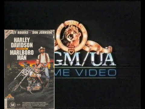 Opening to Harley Davison and the Marlboro Man 1992 VHS (Australia)