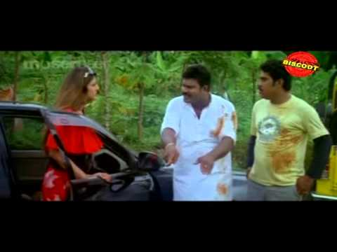 Kabadi Kabadi Malayalam Movie Comedy Scene Kalabhavan  Mani And  Rambha, Suraaj video