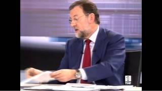 Rajoy vs Zapatero primer debate 2008