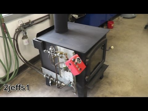 Part 2 -NEW-  More Detailed Waste Oil Burner Heater DIY
