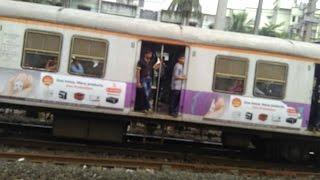 Mumbai CST to Vashi panvel (Navi Mumbai) Full Local Train Journey