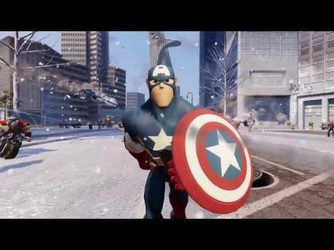 Disney Infinity 2.0 Marvel Super Heroes - Ils débarquent !