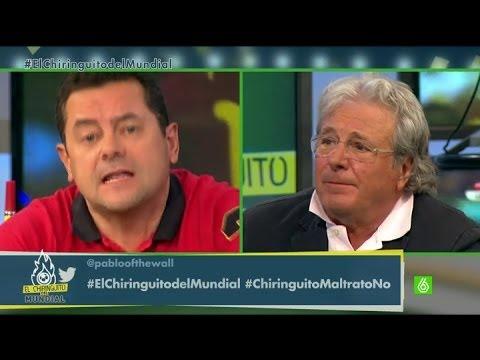 El Chiringuito del Mundial - ¿Ha maltratado Del Bosque a David Villa?
