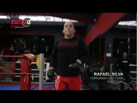 Rafael Silva Apresentação nos ringes de MMA