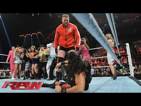 Adam Rose brings the party to London, England: Raw, May 19, 2014