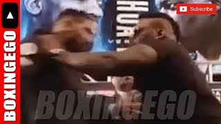 *LIVE EGO* JARRELL MILLER  TRIES TO PUSH THE MESS OUT OF ANTHONY JOSHUA