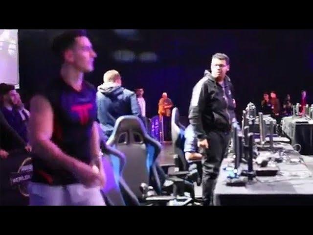 YOU SUCK Censor vs Temp TRASH TALK  Slasher Interview at MLG CWL Dallas Open 2017