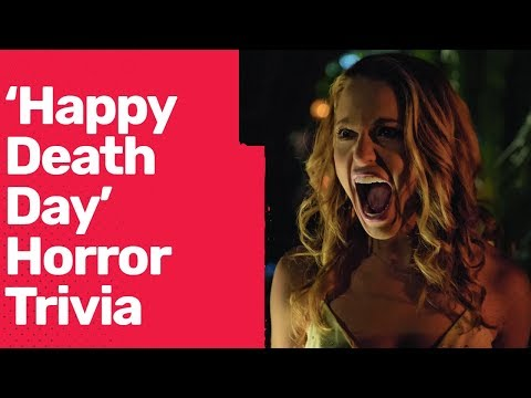 'Happy Death Day' Cast Competes In Horror Movie Trivia