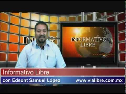 Informativo Libre Nota del día 10-Septiembre-2014 Ciudad del Carmen Campeche