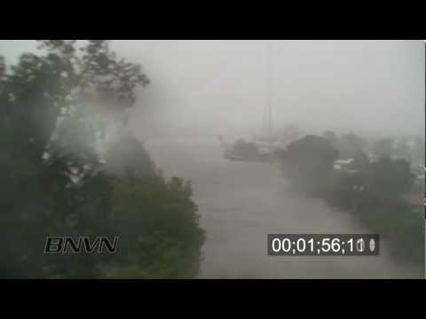 Hurricane Gustav Video, 2008 Part 1. Landfall, Underwater camera