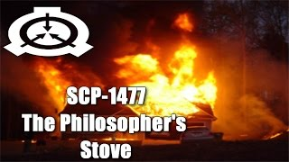 SCP-1477 The Philosopher's Stove | Object Class: Safe | Appliance scp