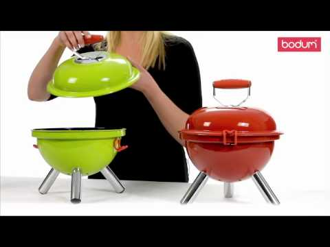 catherine tv le mini barbecue par bodum youtube. Black Bedroom Furniture Sets. Home Design Ideas