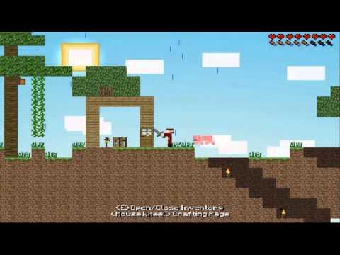 Jogos Gratis #4 -  Minecraft 2D (Minecraft + Terraria)