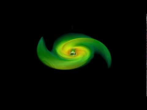 NASA | Simulations Uncover 'Flashy' Secrets of Merging Black Holes
