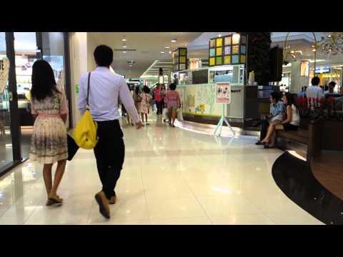 At the Future park shopping centre in Bangkok